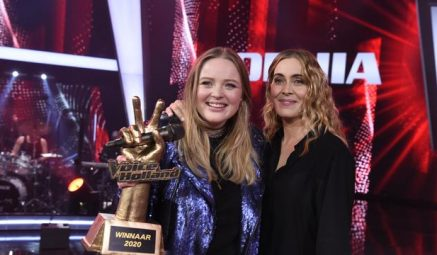 Trots op Sophia: winnares van The Voice of Holland!!